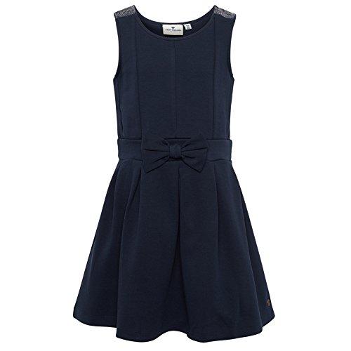 TOM TAILOR für Babies, für Mädchen Kleider & Jumpsuits Kleid mit Schleifen-Detail real navy blue 128/134