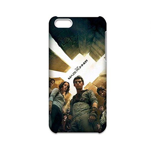 Generic Telefon Muscheln Kunstdruck The Labyrinth Runner Womon für 5C iPhone Silica Gel Fein -