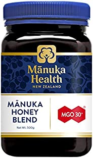 MANUKA HEALTH - MGO 30+ Manuka Honey Blend, 100% Pure New Zealand Honey, 1.1 lbs (500 g)