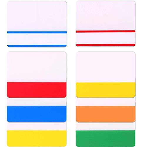 Lvcky 160teilig 5,1cm Index Taben Tape Flagge Spender Selbstklebend Seite Schöpfern Sticky Notes für Bindemittel, Notebooks, Bücher und Datei Ordner Wie Büro- und Schulbedarf