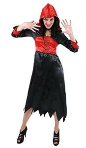 César - Disfraz de bruja para mujer, talla 46/48 (C801-005)