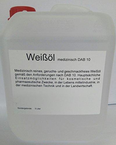Weißöl med. Kanister 5 Liter -