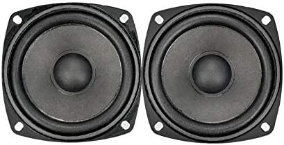 3 inch Square Satellite Speakers, 1.5 Watt Speaker, 8 ohm (Pack of 2)