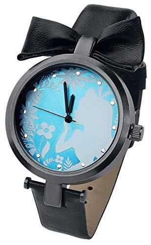 Alice im Wunderland Alice Armbanduhren schwarz/blau/weiß