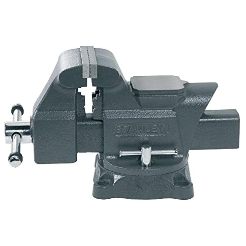Stanley 183066 MaxSteel Heavy-Duty Bench Vice 100mm 4-inch