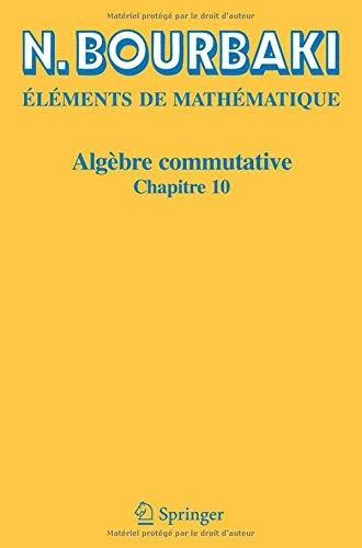 Algbre commutative: Chapitre 10