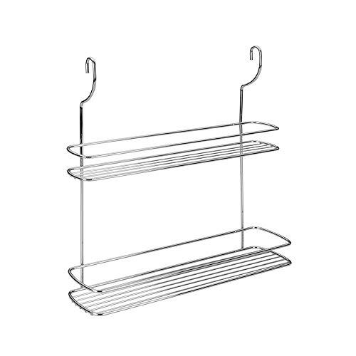 Metaltex 350312 - Especiero 2 estantes