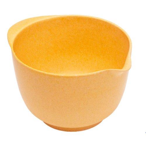 Bambus-rührschüsseln (Magu 131 053 Rührschüssel 24 cm Natur Design, orange)