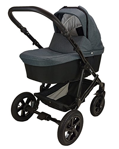 Springer 3 in 1 Kombi Kinderwagen Sportwagen Babyschale Buggy City (New York)