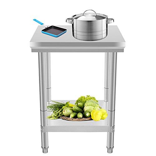 Buoqua 60 X 60 X 80 Cm Table De Travail Pour Cuisine
