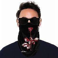 Dm Violator Depeche Mode Tube Neck Gaiter Scarf Men Women Face Bandana Elastic Cover for Masks,Work Out Magic Headwear Headbands Warmer Windshield Headscarf