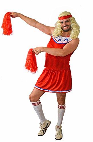 Kostüm Männliche Cheerleader - Karnavale USA erwachsenen männlichen Cheerleader Kostüm