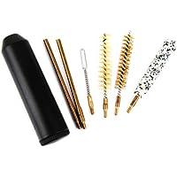 7pcs Format de Poche Kit de Nettoyage de Pistolet Brosse Pour Pistolet Cal.38 / 357 9mm