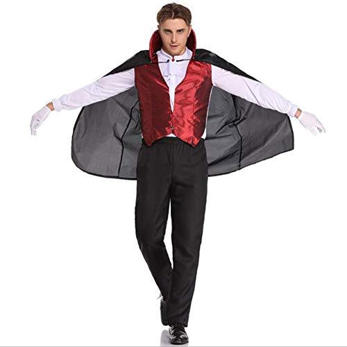 QIAO Halloween Kostüm Fledermaus Vampir Kostüm