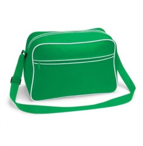 BagBase , Damen Schultertasche, White Black (bunt) - PC2014-BG14-White Black-ONE Pure Green White