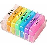 Portable Medicine Container Fall 7Days Speicher Pille Box Health Care Organizer preisvergleich bei billige-tabletten.eu