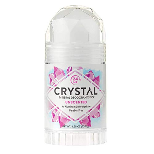 Crystal, Körper-Deodorant, Stick, ohne Duft, 125 ml -