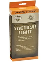 TAC SHIELD Tactical 12 Hour Light Stick (10-Pack), Orange