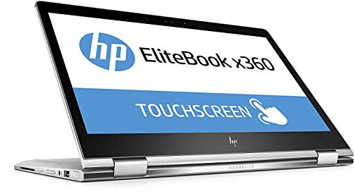 HP EliteBook x360 1030 G2 5SR15ES 33,78 cm (13,3 Zoll Full HD) Convertible Notebook (Intel Core i5-7200U, 8GB RAM, 256GB SSD, Intel HD Grafik, Touch, Windows 10 Pro) silber