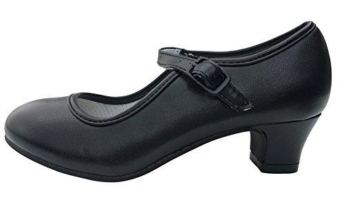 La Senorita Spanische Flamenco Schuhe - Schwarz - Größe 34 - Innenmaß 22 cm