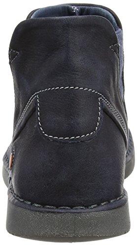 Softinos Damen Tep413sof Stiefel blau (marineblau)