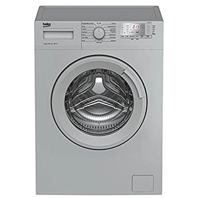 Beko WTG641M1S A+++ Rated 6Kg 1400 Spin Washing Machine in Silver 15 Programmes from Beko