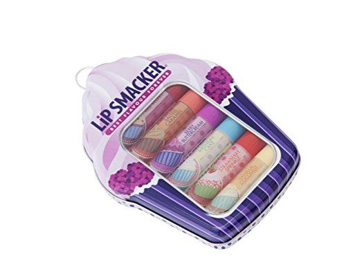 Lip Smacker Boîte Métal Cupcake 6 Baumes à Lèvres