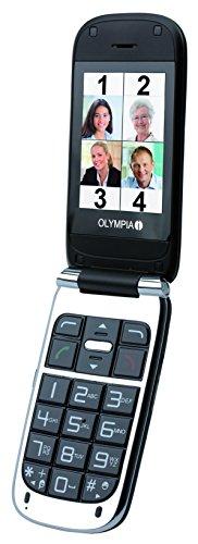 Image of OLYMPIA 2237 Komfort-Mobiltelefon mit Großtasten/Farb-LC-Display Modell Becco Plus schwarz