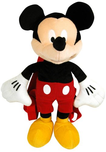 Disney Junior Mickey Mouse Clubhouse Mickey Plush Backpack (Mickey Maus Plushs)
