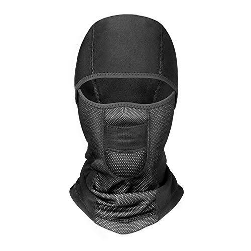 JenNiFer Winter Motorrad-Voll-Face-Maske Thermisch Wasserdicht Windschutz -