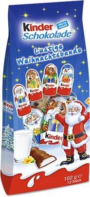 """Kinder Schokolade """"Lustige Weihnachtsbande"""""""
