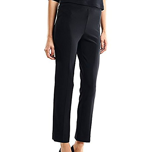 Joseph Ribkoff Black Elastic Waist Pull-on Stretch Pants Style 143105 - Size 20