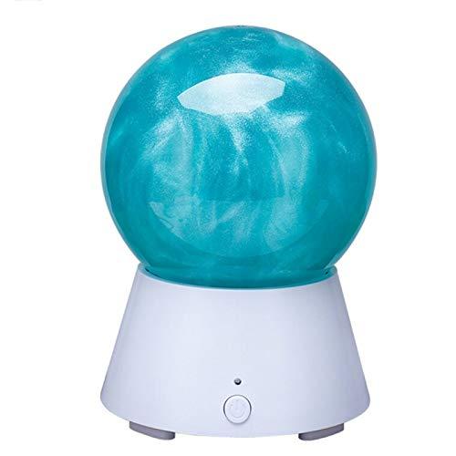 Veilleuse LED Creative JUPITER Planète Conception Magic Music Basse Sound Box Bluetooth V2.1 + EDR Haut-Parleur Atmosphère Nuit Lampe Nouveauté Cadeaux