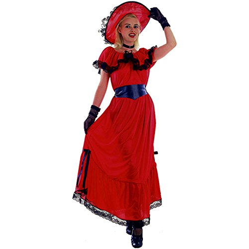Kostüm Scarlett Gr. 40/44 (M/L) Faschingskostüm Karnevalskostüm (Scarlett O'hara Kostüm)