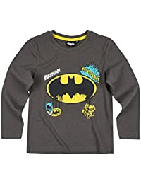 Batman Jungen Langarmshirt - grau