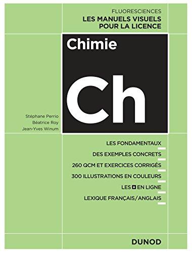 Chimie : Cours, exercices et méthodes (Fluoresciences) par Stéphane Perrio