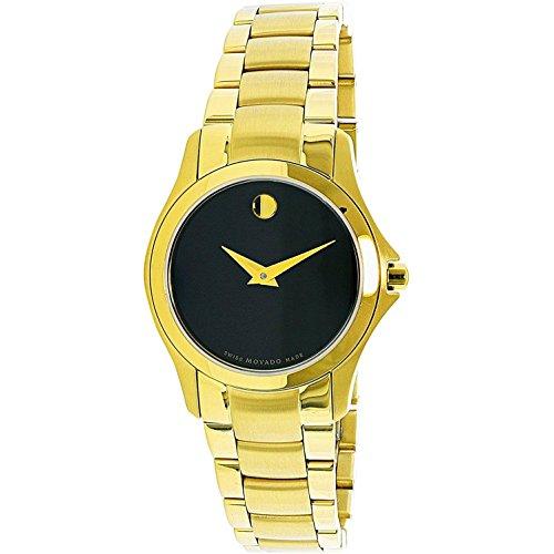 Movado Masino 0607027 oro acciaio inox svizzero al quarzo orologi di moda donne Oro