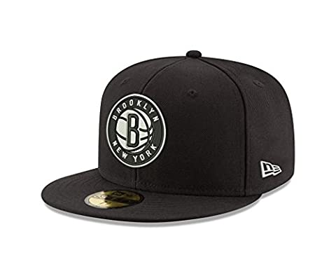 NBA Brooklyn Nets Classic Wool Fitted 59FIFTY Cap, 7.375,