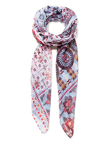 Desigual Rectangle Foulard Kendall Woman White Bufanda