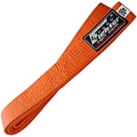 4Fighter Karate Belt/Cinturón de Karate en Naranja 220cm para Niños