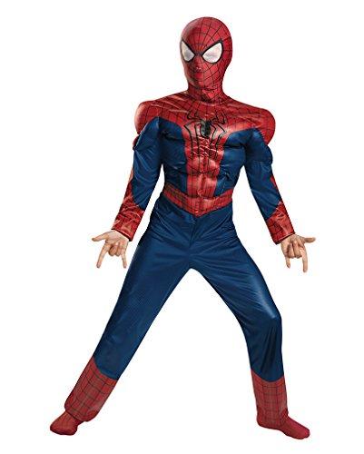 Originales Spider-Man 2 Kinderkostüm für Comic Helden L