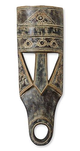 NOVICA 513.499,1cm osudum Afrikanische Holz Maske (Bush-maske)