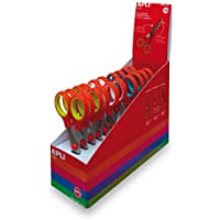 Apli Kids - Tijeras para niños (12 unidades), varios colores