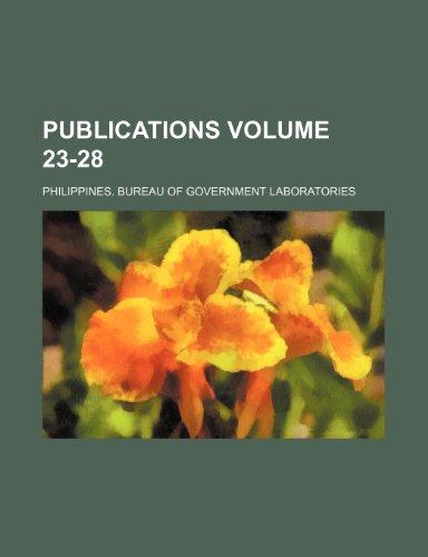 Publications Volume 23-28