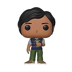 Funko- Pop Vinilo: Big Bang Theory S2: Raj Figura Coleccionable, Multicolor, Talla única (38584)