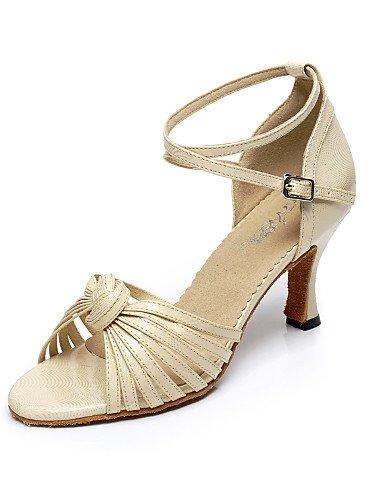 La mode moderne Sandales femme latine sandales talon personnalisé avec Buckie Chaussures de danse(plus de couleurs) US8/EU39/UK6/CN39
