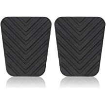 fengwen66 Pair of Pedal Pads Rubbers for Hyundai Accent Tucson Tiburon Elant Genesis(Black)
