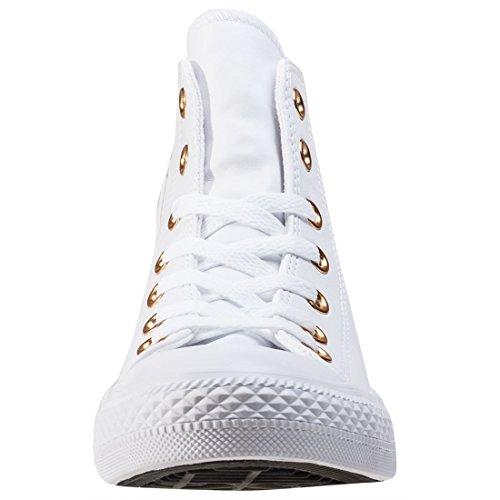 Damen Hi Weißgold Sneakers Ctas Converse Y6xZqn4w6