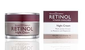 Skincare LdeL Cosmetics Retinol Night Cream, 50 ml Jar