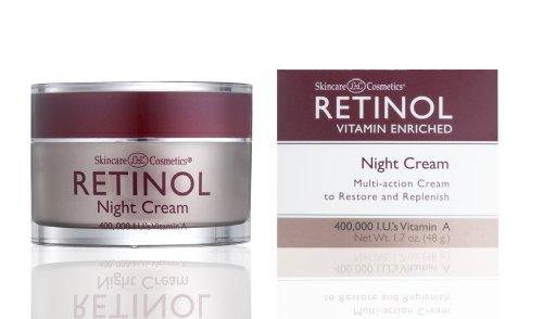 Skincare LdeL Cosmetics Retinol Night Cream, 50 ml Jar- - Cream Retinol Hautpflege Night